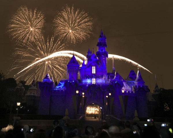 Holiday Fireworks at Disneyland