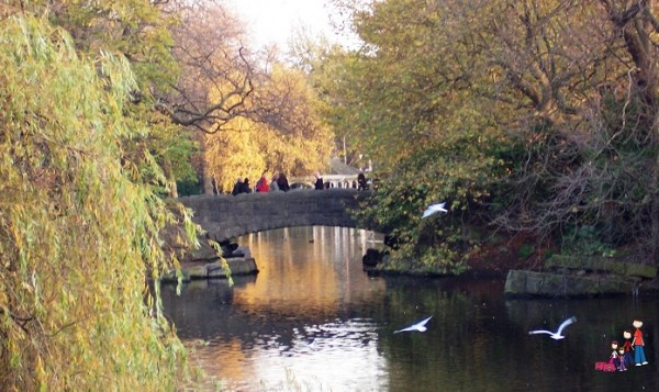 Stone Bridge, St. Stephen's Green, Dublin