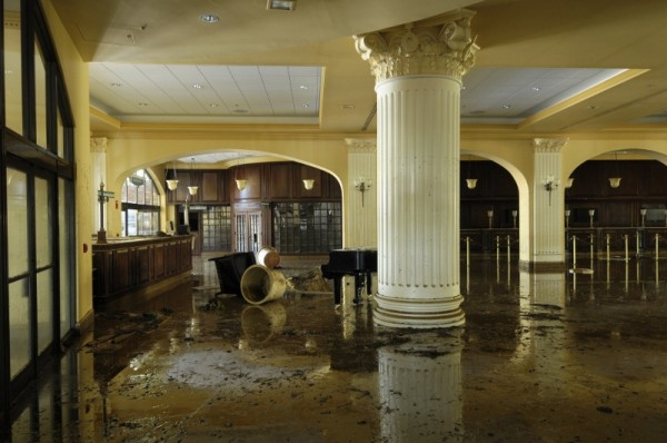 Cascade Lobby after the flood, Gaylord Opryland, Nashville