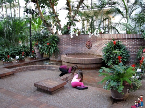 Fountain in the Conservatory, Gaylord Opryland Hotel