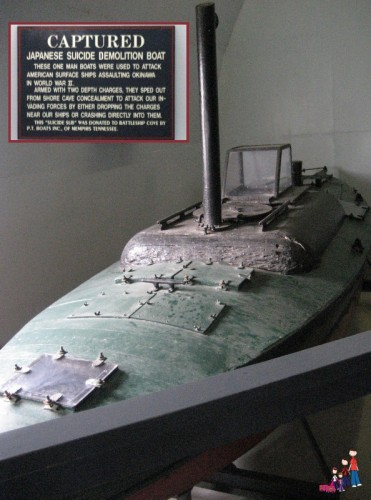 Japanese Motorboat used for Suicide Missions