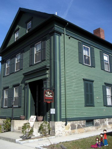 Lizzie Borden House, now a B&B