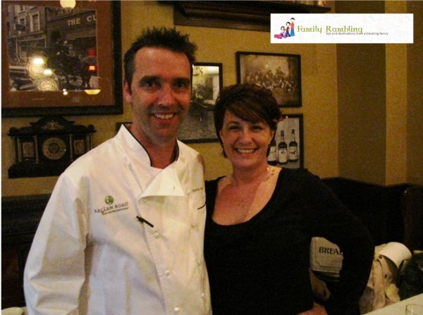 Me with Master Chef Kevin Dundon