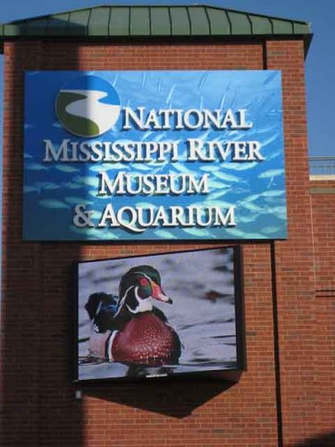 National Mississippi River Museum &amp; Aquarium in Dubuque, IA