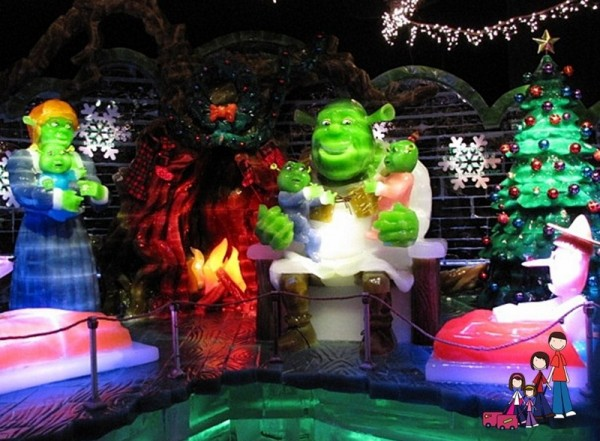 Shrek the Halls Gaylord Palms Orlando