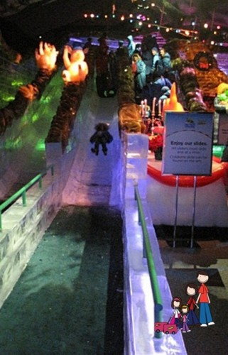 ICE slide Gaylord Palms Orlando