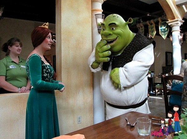 Shrek and Fiona at Gaylord Palms orlando