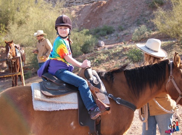 Horseback Riding at Goldfield Ghost Town