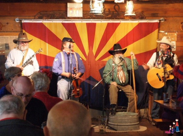 The McNasty Brothers perform at Mining Camp Restaurant
