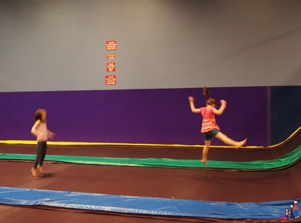 Fun at Jump Street Trampoline Park