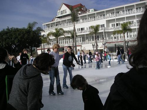 hotel del coronado pool. Hotel del Coronado#39;s Skating