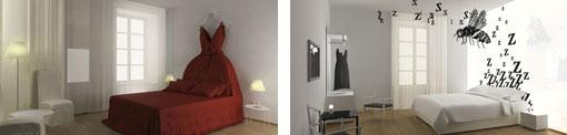 Classic rooms- Maison Moschino