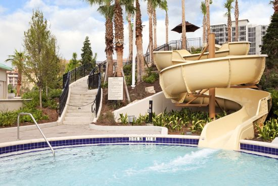 Water Slide at Hilton Orlando Bonnet Creek