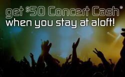 Aloft Concert Cash