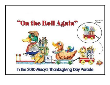 Homewood Suites Macy's Thanksgiving Day Parade float