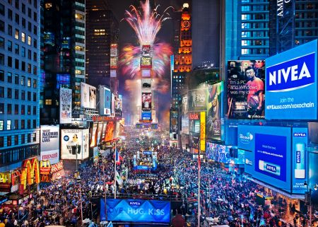 New Year's Eve in Times Square, New York