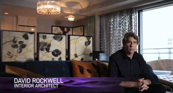 David Rockwell, Interior Architect, The Cosmopolitan of Las Vegas