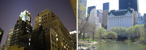 Bryant Park Hotel & The Plaza Hotel, New York
