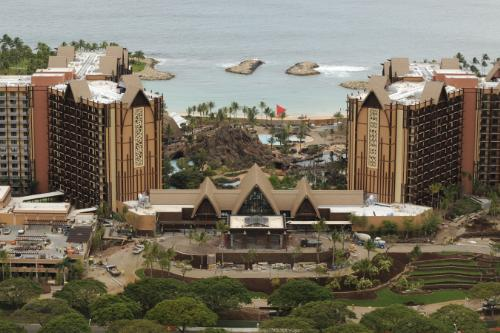 Towers of the Disney Aulani in Ko Olina, Hawaii