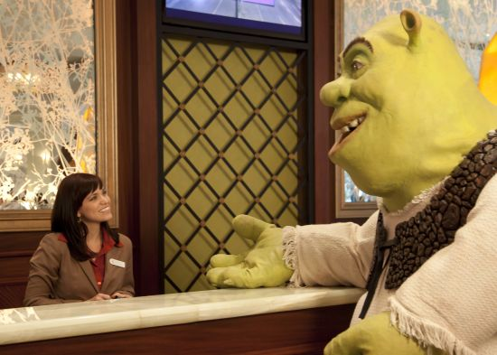 Shrek checks into Gaylord Hotels