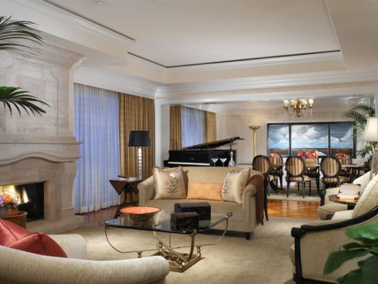 Presidential Suite at Beverly Hills Hotel