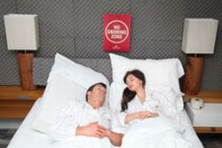Crowne Plaza Snoring Absorption Room