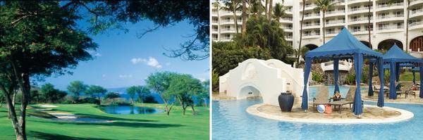 Wailea Golf Course &amp; Island Cabana at The Fairmont Kea Lani