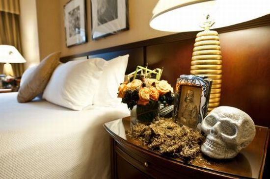 Spooky suite at Loews Hotels NYC