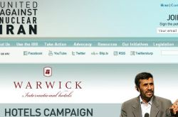 Warwick Hotel Takes Flak for Hosting Ahmadinejad