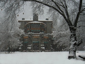 The Ahwahnee in Winter