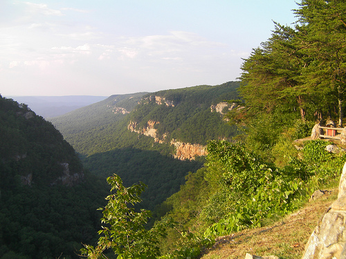View over Cloudland Canyon, Georgia