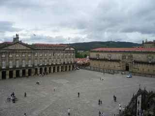 Cathedral Plaza Santiago de Compostela