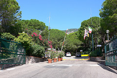 Entrance at Camping Cala Gonone