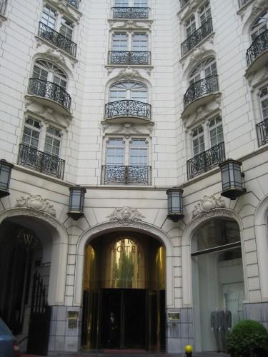Conrad Hotel, Brussels, Belgium, 71 Avenue Louise, Luxury Hotel