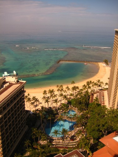 Luxury Travel Writer Nancy D. Brown visits the Hilton Hawaiian Village Resort & Spa in Honolulu, Hawaii