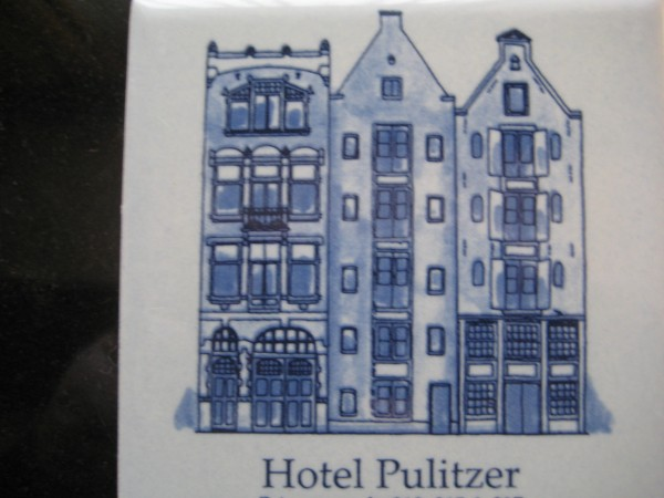 Hotel Pulitzer, 25 canal houses, 230 rooms located in central Amsterdam, Holland, Luxury Travel Writer Nancy D. Brown