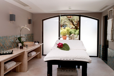 A treatment at Spa Byblos by Sisley Cosmetics would've been a great way to recuperate from the stress inherent in luxury travel.