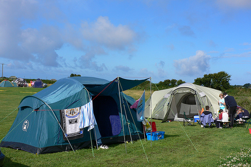 Pitton Cross Campsite on the Gower in Wales