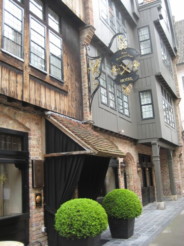 Luxury Travel Writer, Relais Bourgondisch Cruyce, Bruges, Belgium