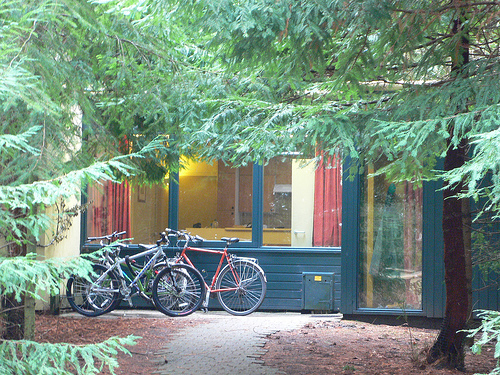 Cabin at Center Parcs, Longleat, UK