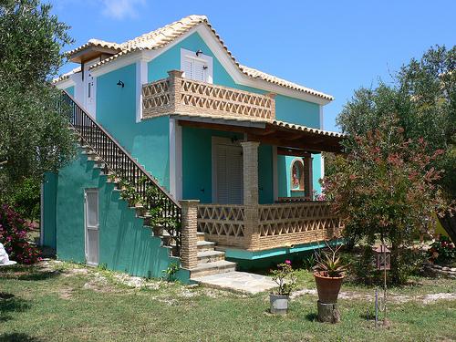 Villa at Gerakas by Ionian Eco Villagers