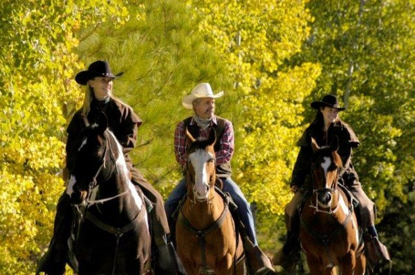 Cowboys Triple Creek Ranch, horseback riding, darby, Montana, Luxury Travel Writer and equestrian Nancy D. Brown