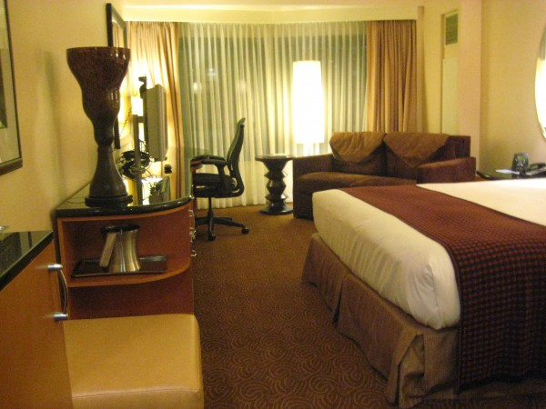 Hilton New York, Deluxe King, Nancy D. Brown Travel Writer
