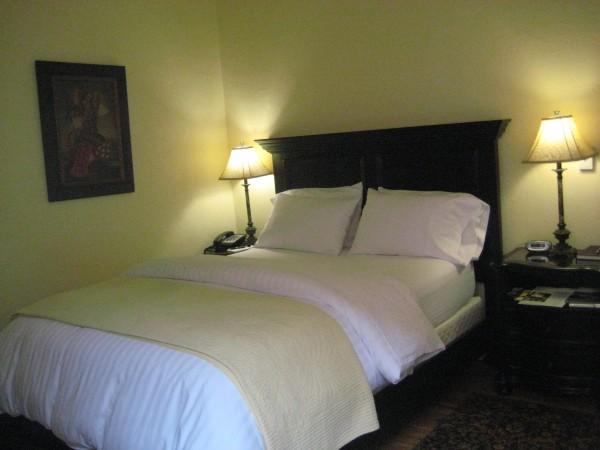 Half Moon Bay Inn, Terrazzo Queen Room with courtyard patio, Nancy D. Brown