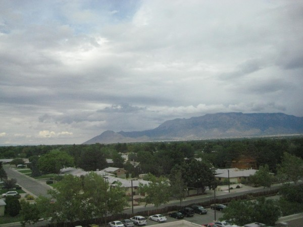 Sandia Mountains, Sheraton Uptown, Albuquerque, New Mexico, Nancy D. Brown