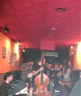 One of Barcelona's many Jam Sessions