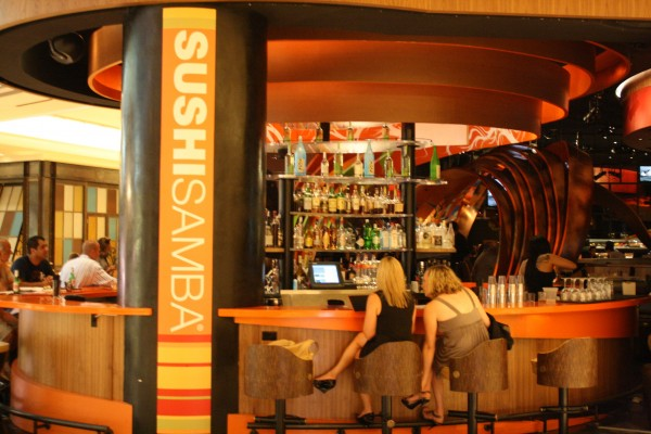 SUSHISAMBA: All caps for a reason