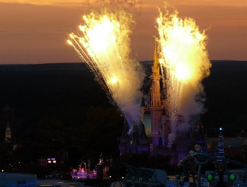 Magic Kingdom Fireworks, Walt Disney World