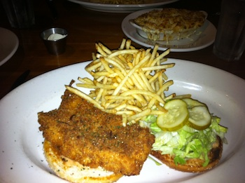 J.Alexander's Fish Sandwich