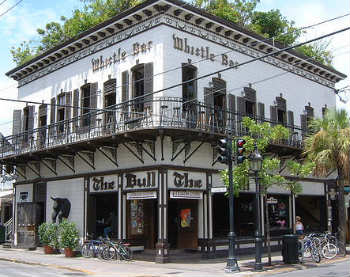 The Bull and Whistle Bar in Key West Offers Tradition and Variety